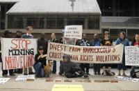 protest, Barrick, indigenous